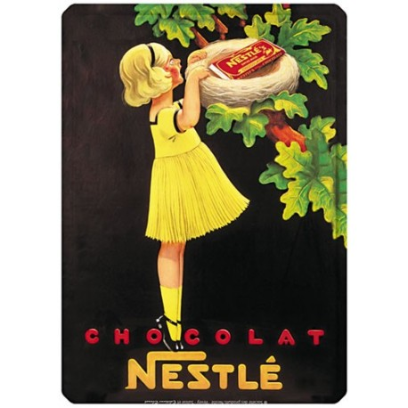 Plaque métal - Nid - Nestlé