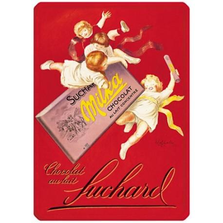 Plaque métal - Milka - Chocolat Suchard