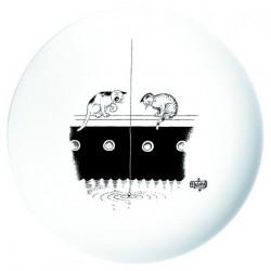 Assiette - Pêche à la ligne