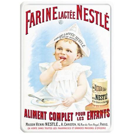 Plaque métal - Farine lactée - Nestlé
