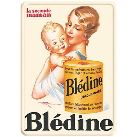 Plaque métal - Seconde Maman - Blédine