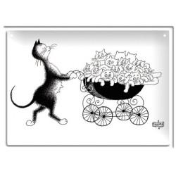 Plaque métal - Famille nombreuse