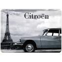 Plaque métal 15x21 - DS Tour Eiffel