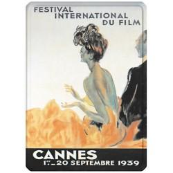 Plaque métal - Festival de Cannes de 1939