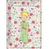 Plaque métal - Rose - Le Petit Prince
