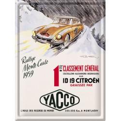 Plaque métal - ID 19 - Citroen