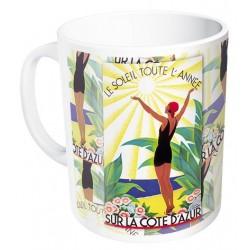 Mug - Soleil toute l'année - Côte d'Azur