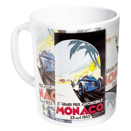 Mug - Grand Prix de Monaco de 1933 - Ville de Monaco