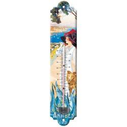 Thermomètre -Antibes - La promeneuse