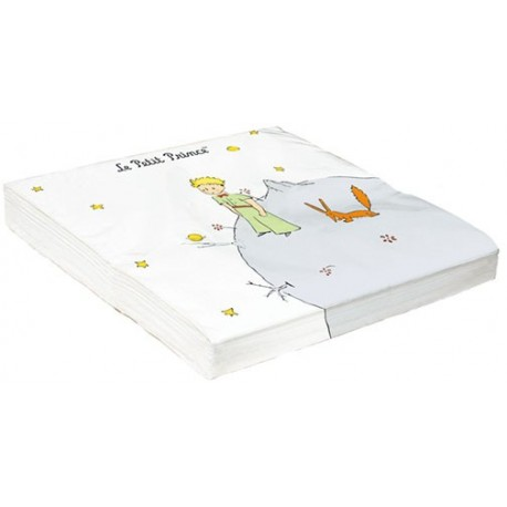 Serviettes - Planète (recto-verso) - Le Petit Prince