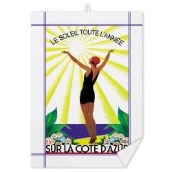 Torchon - Côte d'Azur - Soleil toute l'année