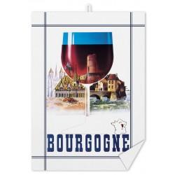 Torchon - Bourgogne Verre (fin de série)