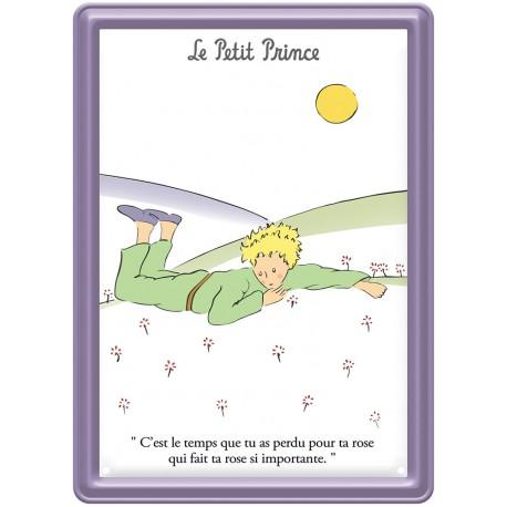 Plaque métal - Paquerettes - Le Petit Prince