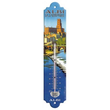 Thermomètre - Cathédrale et Pont-Vieux d'Albi