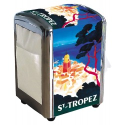 Distributeur de serviettes - Saint-Tropez - Vue aérienne