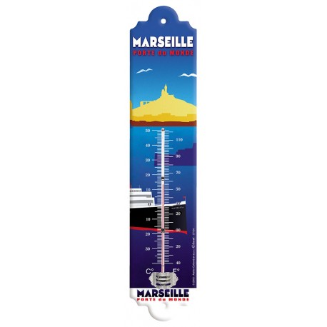 Thermomètre - Marseille Porte du Monde