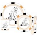 Vaisselle Bambou - Dressage de chien