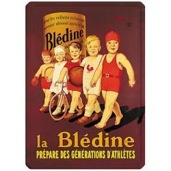 Plaque métal 15x21 - Bébés athlètes