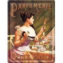Plaque métal 30x40 - Parfumerie