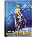 Plaque métal 30x40 - Bicyclette