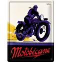 Plaque métal 30x40 - Motocycle Motobécane