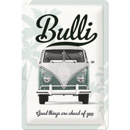 Plaque métal 3D 20x30 - Combi Bulli