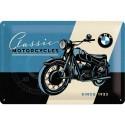 Plaque métal 3D 20x30 - Moto
