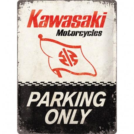 Plaque métal 3D 30x40 - Parking