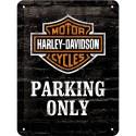 Plaque métal 3D 15x20 - Parking Only 2