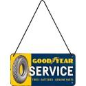 Plaque à suspendre - Service 2
