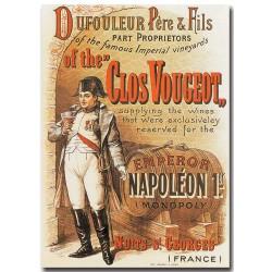 Affiche - Clos Vougeot Napoléon (rupture définitive)