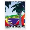 Affiche - Port de Sainte-Maxime - PLM