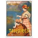 Affiche - Talloires - Le Lac d'Annecy (fin de série)