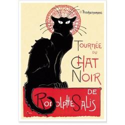 Affiche - Tournée du Chat noir