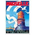 Affiche - Marseille - Le phare du Planier