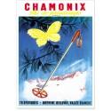Affiche - Chamoinx - Ski de printemps