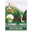 Affiche - Station climatique de Saint-Gervais