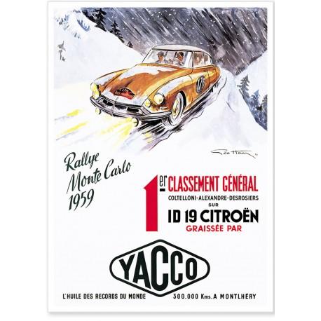 Affiche - ID 19 - Citroen
