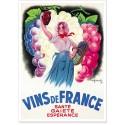 Affiche - Vins de France