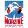 Affiche - Le téléphérique de Morzine - Ville de Morzine