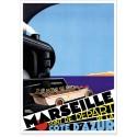 Affiche - Marseille - Point de départ