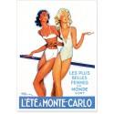 Affiche - L'été à Monte-Carlo