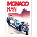 Affiche - Grand Prix de Monaco de 1948