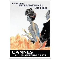Affiche - Festival de Cannes de 1939