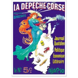 Affiche - La Dépêche Corse