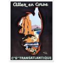 Affiche - Allez en Corse