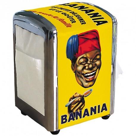 Distributeur de serviettes - Tête Tirailleur - Banania