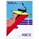 Affiche - Relax à Nice