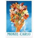 Affiche - Pin-up au bouquet