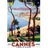 Poster 30x40 - Cannes - Été hiver